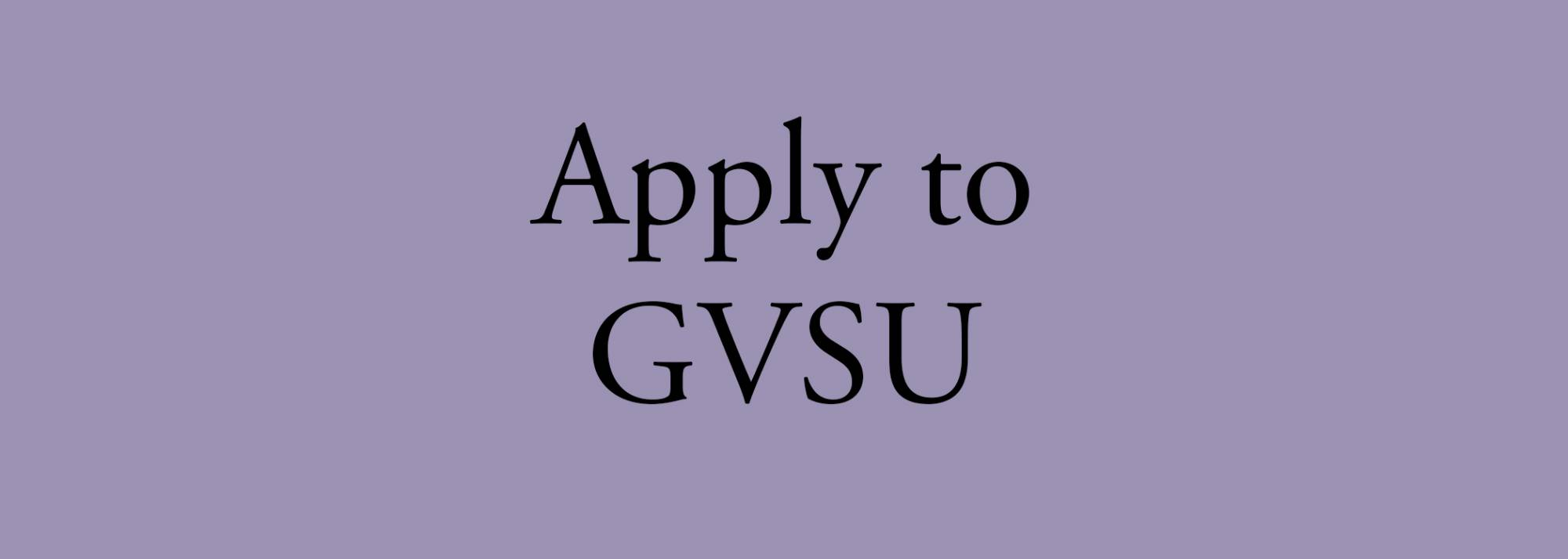 apply to grand valley